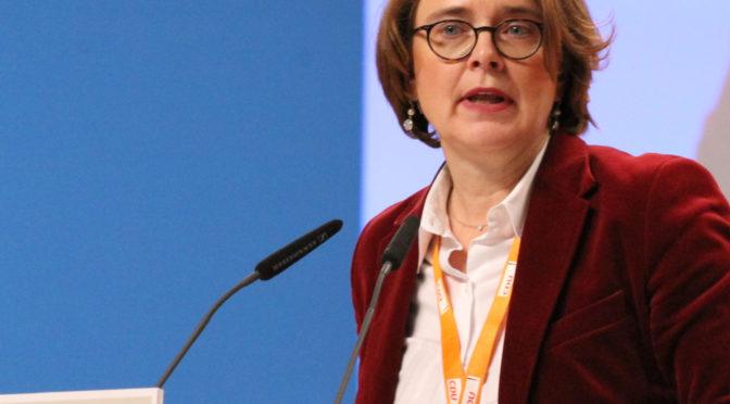 """Annette Widmann-Mauz bei """"Frühstück plus"""" zur Bundestagswahl 2017"""