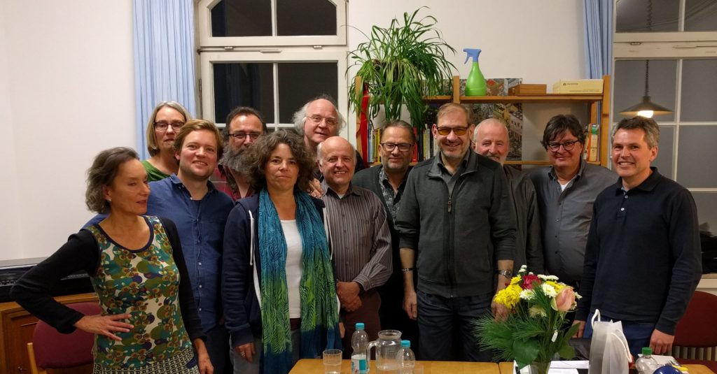 Der neue Vorstand des TAT e.V. ab November 2017.