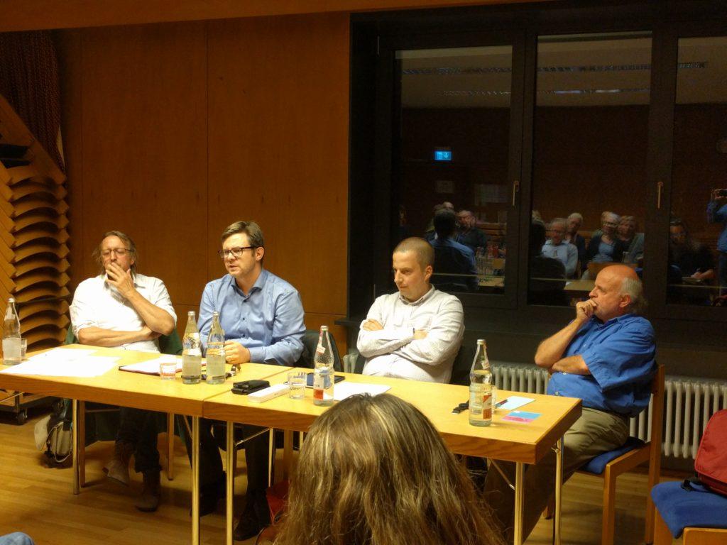 Thomas Haas, Martin Rosemann, Moritz Stiepert, Peter Ott