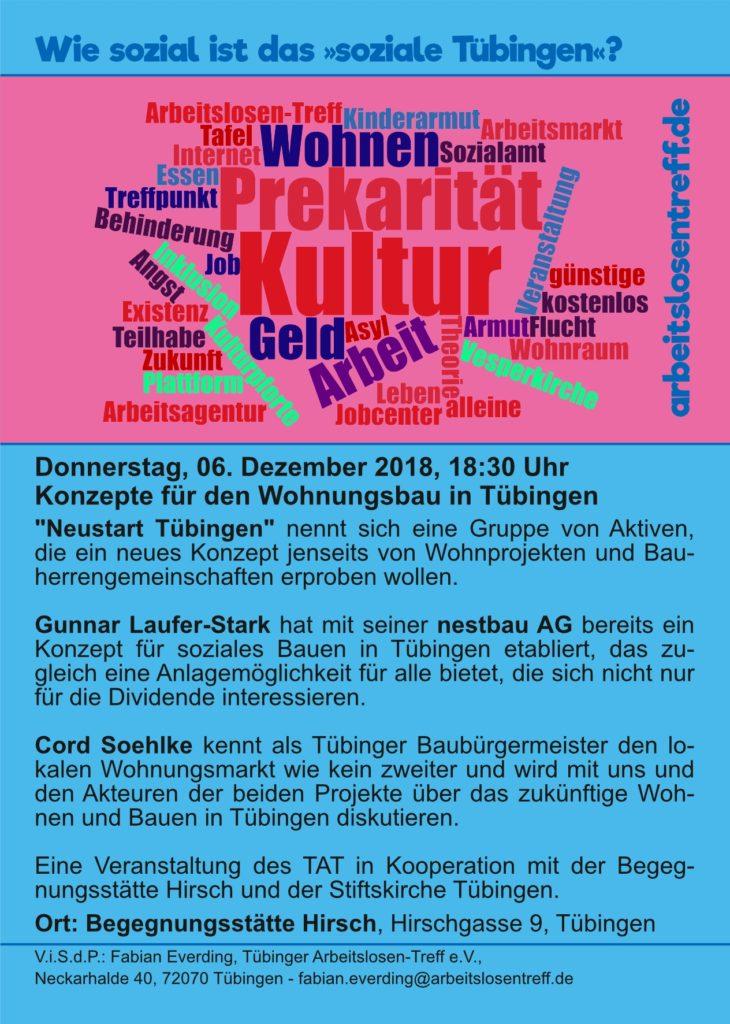 Konzepte für den Wohnungsbau in Tübingen